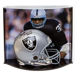 Marcus Allen Signed LE Raiders Full-Size Authentic Pro-Line Helmet Inscribed  HOF 03    SB XVIII MVP