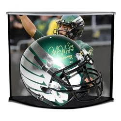 Marcus Mariota Signed LE Oregon Ducks Full-Size Authentic Pro-Line Custom Chrome Wings Helmet Inscri