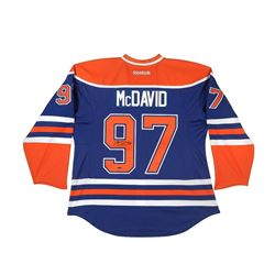 Connor McDavid Signed Oilers Authentic Reebok Jersey (UDA COA)