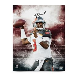 Jameis Winston Signed Buccaneers Stadium Series 16x20 Photo LE of 50 (UDA COA)