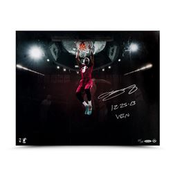 "LeBron James Signed Heat ""Christmas Jam"" 16x20 Limited Edition Photo Inscribed ""12.25.13 Win"" (UDA C"