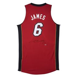 LeBron James Signed Heat Jersey (UDA COA)