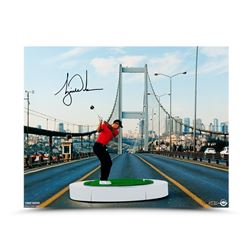 "Tiger Woods Signed LE ""The Bridge"" 16x20 Photo (UDA COA)"