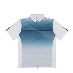 Tiger Woods Signed LE Nike Polo (UDA COA)