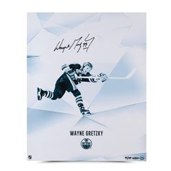 "Wayne Gretzky Signed Oilers ""Clarity"" LE 16x20 Photo (UDA COA)"