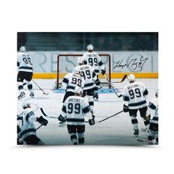 "Wayne Gretzky Signed Kings LE ""Respect"" 16x20 Photo (UDA COA)"