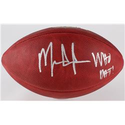 """Mark Ingram Signed """"The Duke"""" NFL Official Game Ball Inscribed """"Who Dat"""" (Ingram Hologram)"""