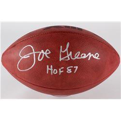 """Joe Greene Signed Official Super Bowl XIII Game Ball Inscribed """"HOF 87"""" (Radtke Hologram)"""
