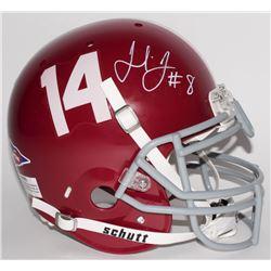 Julio Jones Signed Alabama Crimson Tide Full-Size Authentic Pro-Line Helmet (Radtke COA)