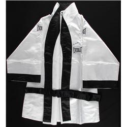 Muhammad Ali Signed Everlast Boxing Robe (PSA LOA)
