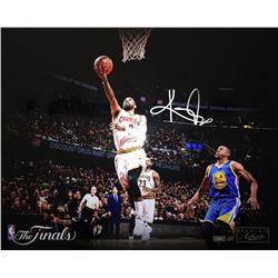 "Kyrie Irving Signed LE Cavaliers ""Finish"" NBA Finals 16x20 Photo (Panini COA)"