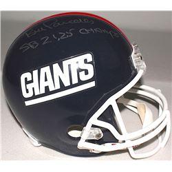 "Bill Parcells Signed Giants Full-Size Throwback Helmet Inscribed ""SB 21,25 Champs"" (Radtke COA)"