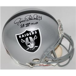 "Jim Plunkett Signed Raiders Full-Size Authentic Pro-Line Helmet Inscribed ""S.B. XV MVP"" (Steiner COA"
