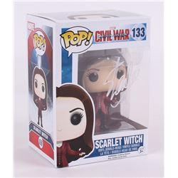 """Stan Lee Signed Marvel """"Scarlet Witch"""" Funko Pop Vinyl Figure (Radtke COA  Lee Hologram)"""