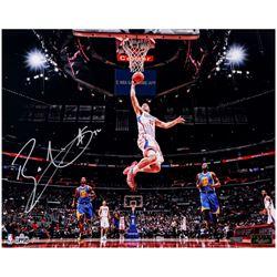 """Blake Griffin Signed """"Soar"""" 16x20 LE Photo (Panini COA)"""