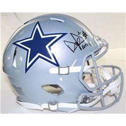 Dak Prescott Signed LE Cowboys Full-Size Authentic On-Field Speed Helmet Inscribed  ROTY 16  (Steine
