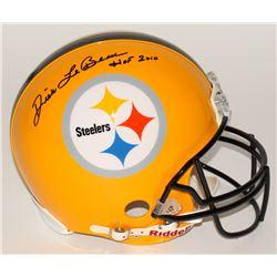 Dick LeBeau Signed Steelers Full-Size Authentic Pro-Line Helmet Inscribed  HOF 2010  (Radtke COA)