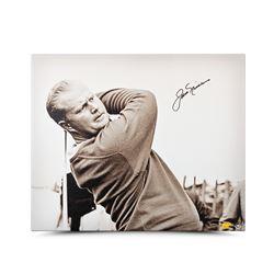 "Jack Nicklaus Signed ""Up Close  Personal"" LE 20x24 Canvas (UDA COA)"