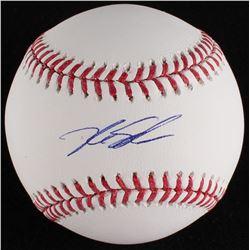 Kyle Schwarber Signed OML Baseball (MLB Hologram)
