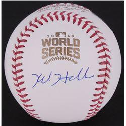 Kyle Hendricks Signed World Series Baseball (MLB Hologram)