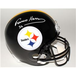 Franco Harris Signed Steelers Full-Size Helmet (JSA COA)