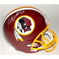 Robert Kelley Signed Redskins Full-Size Helmet (JSA COA)