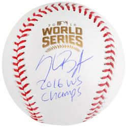 "Kris Bryant Signed 2016 World Series Logo Baseball Inscribed ""2016 WS Champs"" (Fanatics  MLB)"
