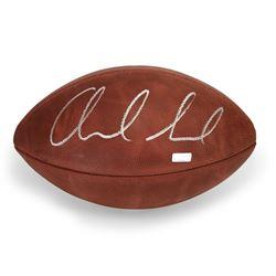 Andrew Luck Signed NFL Wilson Football (Panini COA)