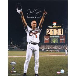 """Cal Ripken Jr. Signed Orioles 16x20 Photo Inscribed """"September 6, 1995"""" (Ironclad Hologram)"""