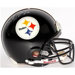 "Jack Ham Signed Steelers Full-Size Authentic Helmet Inscribed ""HOF 88"" (Radtke COA)"