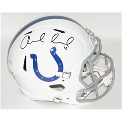 Andrew Luck Signed Colts Full-Size Speed Helmet (Panini COA)