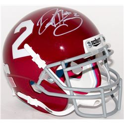 Derrick Henry Signed Alabama Crimson Tide Mini-Helmet (Radtke COA)