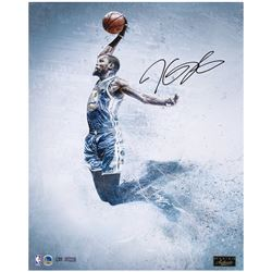 "Kevin Durant Signed Warriors ""Soar"" LE 16x20 Photo (Panini COA)"