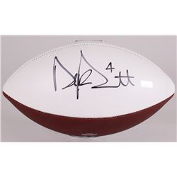 Dak Prescott Signed Cowboys Logo Football (Panini COA)