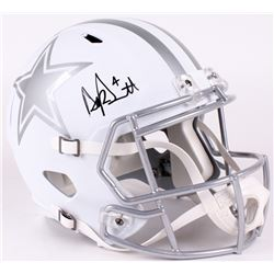 Dak Prescott Signed Cowboys Full-Size Replica Speed Ice Helmet (JSA Hologram)