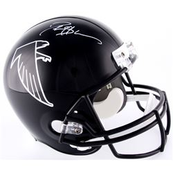 Deion Sanders Signed Falcons Full-Size Helmet (JSA COA)