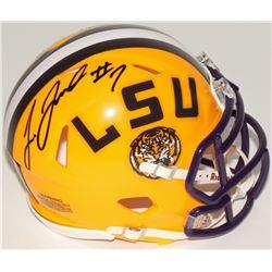 Leonard Fournette Signed LSU Tigers Speed Mini-Helmet (Panini COA)