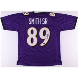 Steve Smith Sr. Signed Ravens Jersey (Smith Hologram  COA)