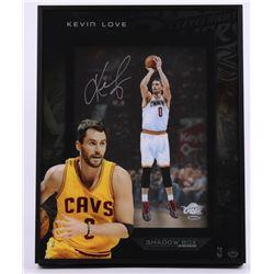 "Kevin Love Signed Cavaliers ""Stretch 4"" 16x20x3 Custom Framed Shadowbox Display (UDA COA)"
