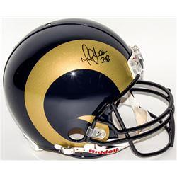Marshall Faulk Signed Rams Full-Size Authentic On-Field Helmet (JSA Hologram)