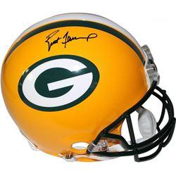 Brett Favre Signed Packers Full-Size Authentic On-Field Helmet (Steiner Hologram  Favre Hologram)