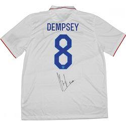 Clint Dempsey Signed Team USA Jersey (Steiner COA)