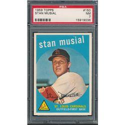 1959 Topps #150 Stan Musial (PSA 7)