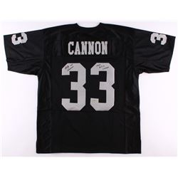 """Billy Cannon Signed Raiders Jersey Inscribed """"1967 A.F.L. Champs"""" (Radtke COA)"""