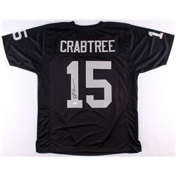 Michael Crabtree Signed Raiders Jersey (JSA)