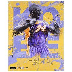 "Kobe Bryant Signed Lakers ""5 Rings"" 20x24 Limited Edition Photo (Panini COA)"