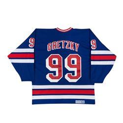 Wayne Gretzky Signed Rangers Jersey (UDA COA)