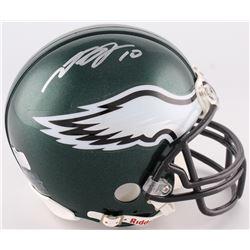 DeSean Jackson Signed Eagles Mini-Helmet (Radtke COA)