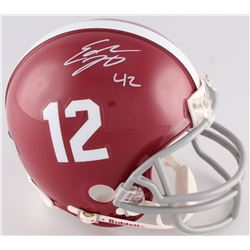 Eddie Lacy Signed Alabama Crimson Tide Mini-Helmet (Radtke COA)