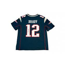 Tom Brady Signed Patriots Limited Edition Jersey with Super Bowl LI Patch (TriStar)